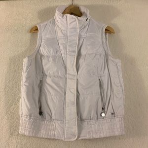 Calvin Klein Puff Vest Size Medium White